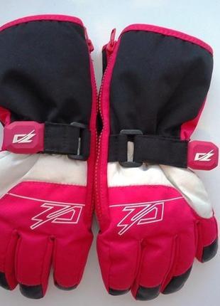 Классные, фирменные термо перчатки zanier на 6-8 лет5
