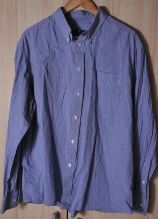 "Стильная рубашка ""marks & spencer""  blue harbour"