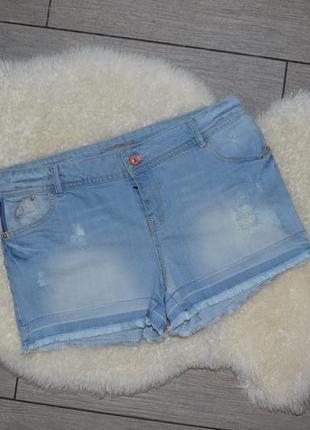 Джинсовые шорты promod