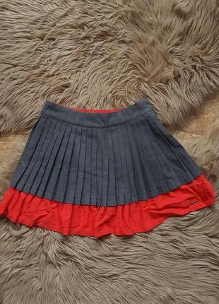 Серая юбка marc jacobs,юбка на девочку розовая серая marc jacobs,яркая юбка