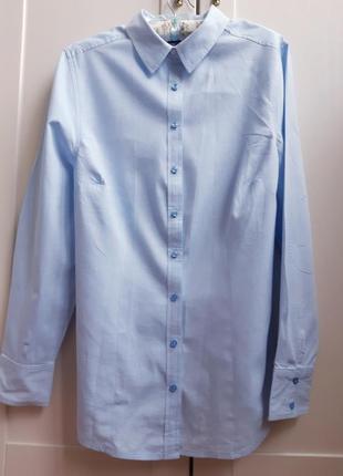 Жіноча хлопкова рубашка 42 р.