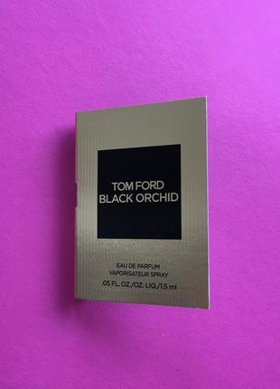 Black orchid пробник парфюма