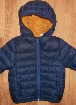 Куртка на мальчика zara 9-12мес.