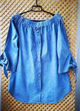 Легкая джинсовая блузочка