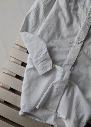 Белое платье рубашка amisu