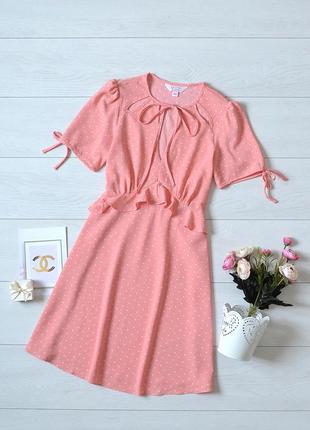 Дуже красиве і ніжне плаття в горох miss selfridge.