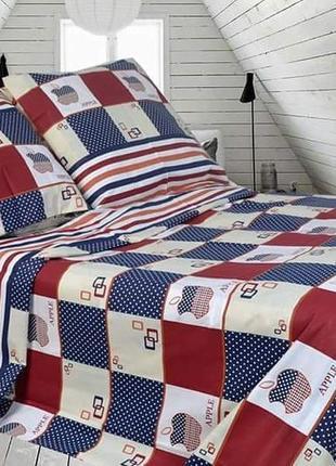 Насыщенный комплект постельного белья в наличии 2-спалка и евро