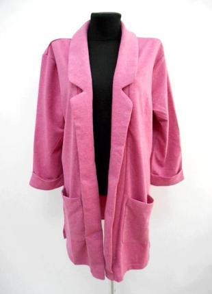 Блейзер розовый up fashion