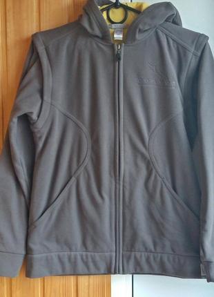 Распродажа-курточка-ветровка!,рукава отстегиваются на размер 46-48 decathlon