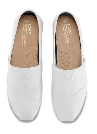 Toms балетки эспадрильи слипоны туфли на низком ходу оригинал