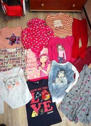 Мегараспродажа фирменной одежды! дешево!!!пакет на девочку 7-10 лет лет