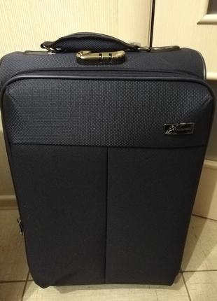 Дорожный чемодан 2 колеса турция для самолета