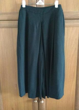 Модные черные кюлоты от бренда tu,размер 14/наш 50-52.