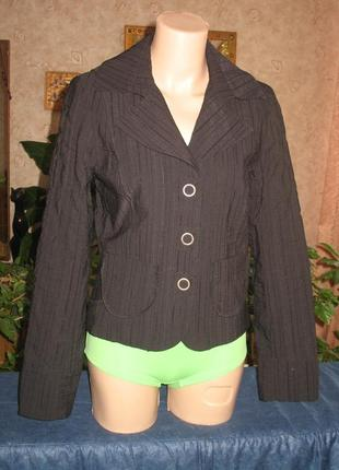 Жакет /куртка тонкая укороченная размер 36/44/s