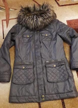 Куртка шикарна курточка демо парка new look