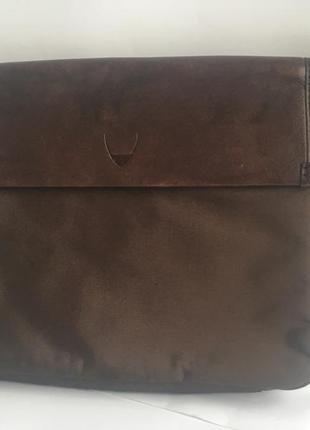 Деловая папка кейс органайзер, натуральная кожа, для ноутбука и документов hidesign