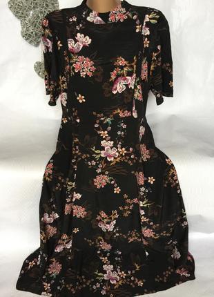 Шикарное длинное платье f&f