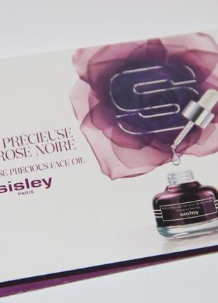 Sisley black rose precious антивозрастное сухое масло для питания кожи лица