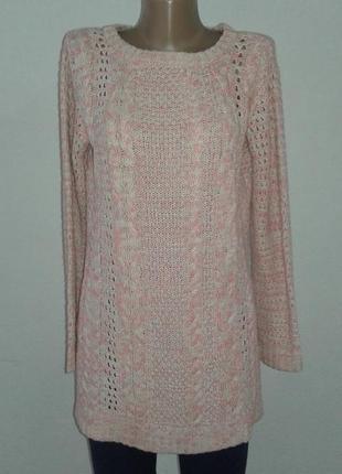 Красивое вязаное платье туника george