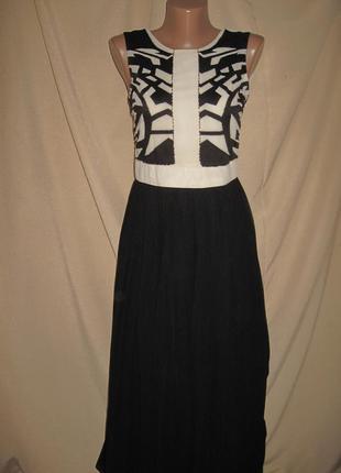 Длинное платье oasis р-р8