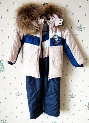 -#woicik  #зимний комбинезон с курткой  #.3 года рост 98 см #изософт