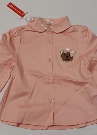 Нарядная кофта блуза на 18 мес, рост 86см., original marines. италия.
