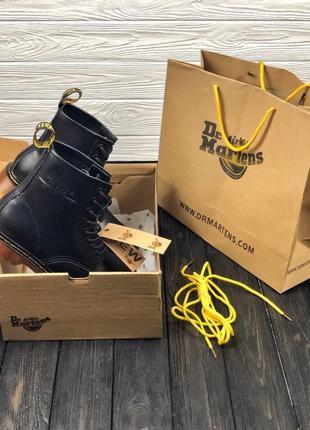 Шикарные ботинки dr. martens black 😍 демисезонные (мужские  женские) 90bca94c41ffb