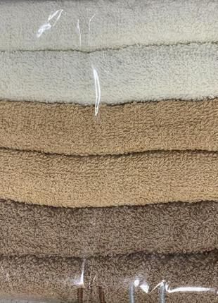 Махровые полотенца комплект 6 шт с венгрии размер 90*50