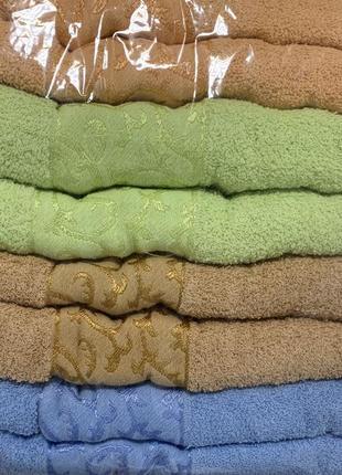 Банные махровые полотенца комплект 8 шт с венгрии размер 140*70