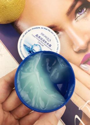 Увлажняющий гель для лица bioaqua crystal through moist replenishment