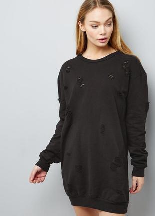 Платье свитшот / удлиненный свитшот / худи cameo rose
