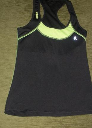 Удобная майка с внутренним топом для спорта workout от atmosphere /англ 10