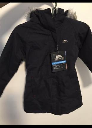 Зимняя куртка, trespass, термо