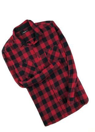 Красивая клетчатая рубашка cedar wood state размер l