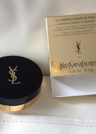 Yves saint laurent le compact engre de peau компактная пудра для лица оригинал