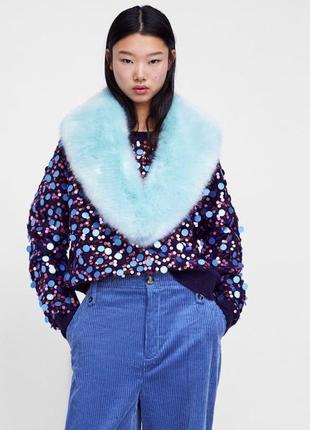 Zara свитер джемпер oversize