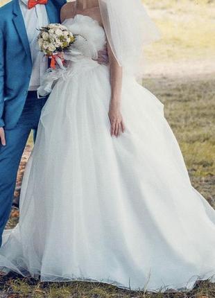 Свадебное(весільне плаття)