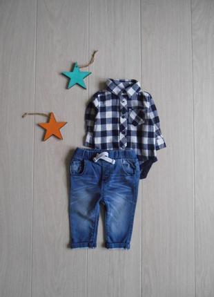 Набор бодик&джинсы