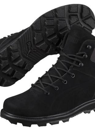 Зимние ботинки puma, премиум класса, натуральная кожа, оригинал