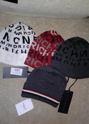Richmond оригинал новая италия шерсть шапка5