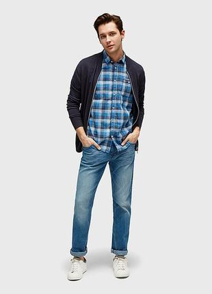 Рубашка мужская от tom tailor. размер м.