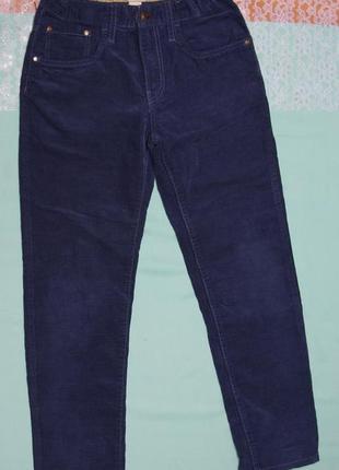 Штаны вельветовые на мальчика 7-8 лет рост 128 см от h&m