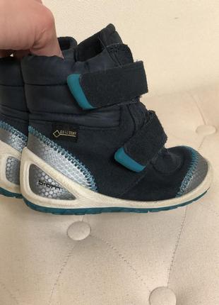 Демисезонные ботинки сапоги ecco biom 20 - 21 р.в идеале, деми4