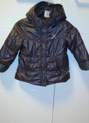 Куртка демисезонная 92р мехх