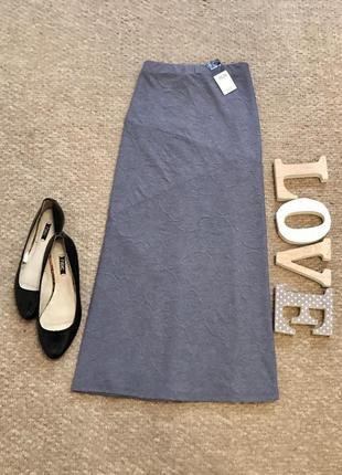 Новая!!!красивая  юбка с рисунком  в составе вискоза bonmarche