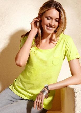 Яркие краски для хорошего настроения - хлопковая футболочка на каждый день от tchibo