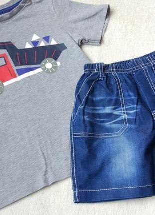 Комплект 2в1 набор футболка и шорты на 2-3 года