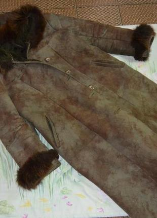 Дубленка батал. 58-60 рр