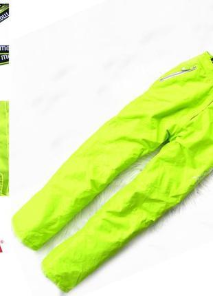 Стильные и крутые зимние лыжные  штаны брюки полукомбинезон orchestra