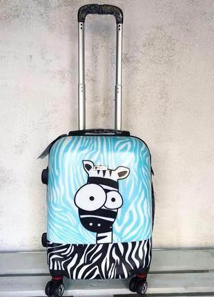 Лучшая цена! airtex франция! чемодан для ручной клади из поликарбоната с принтом
